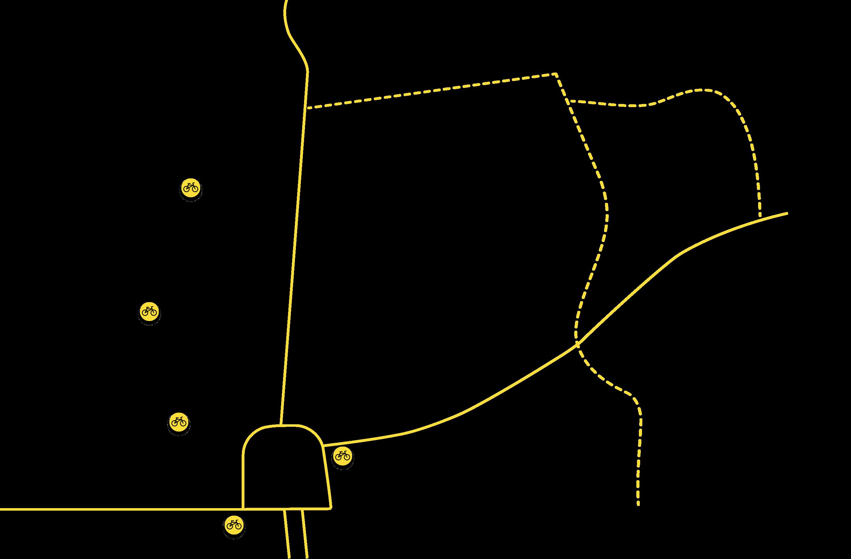 Kerékpáros közlekedés térkép