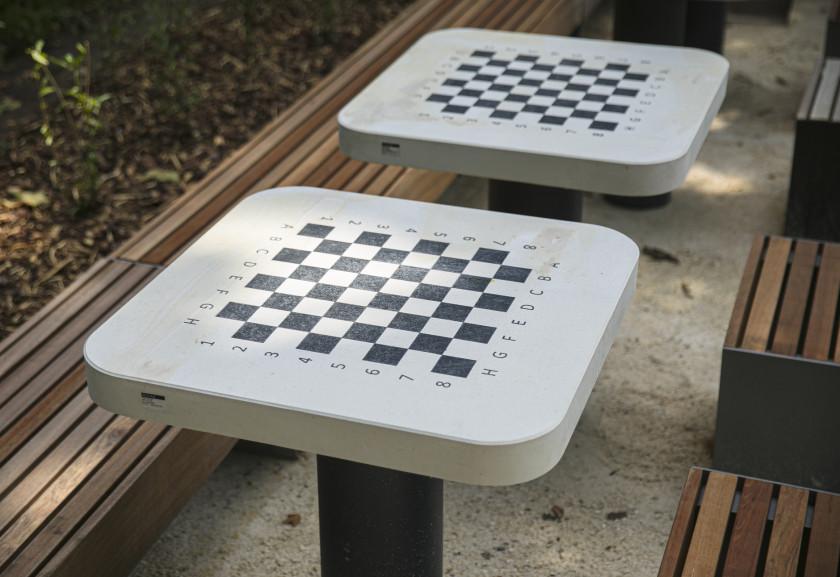 Sakk asztalok
