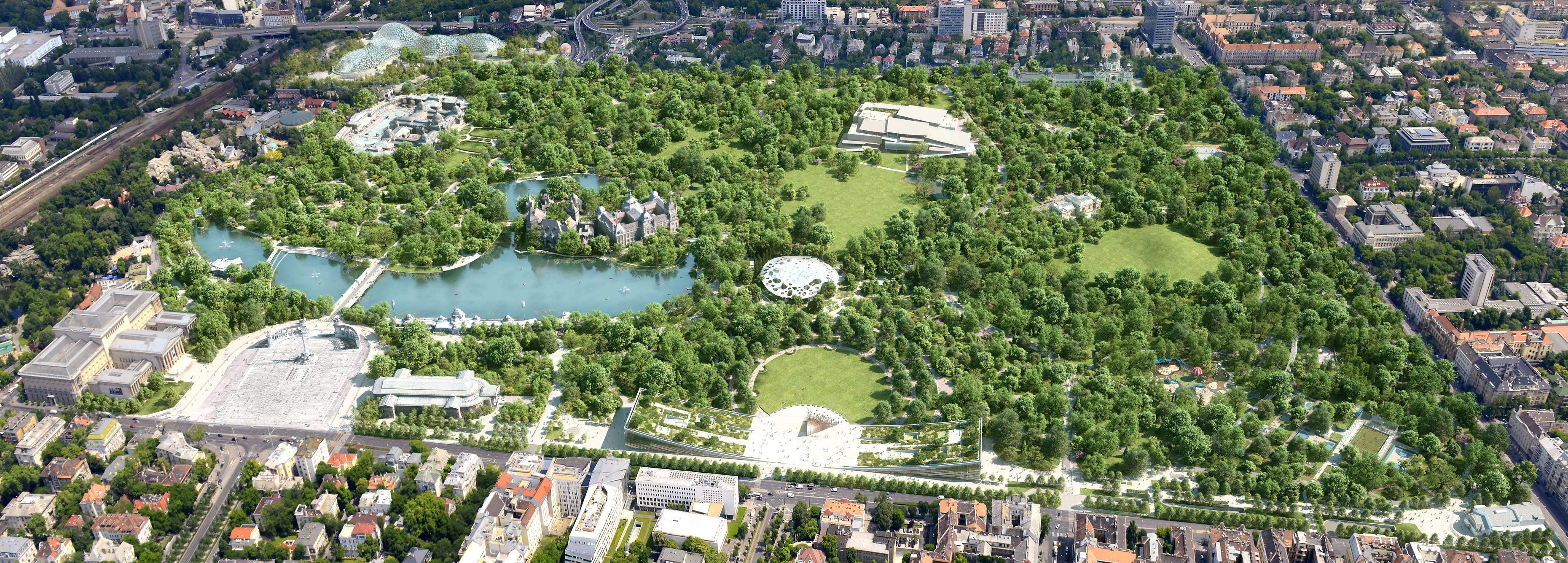 Újabb források a Városliget zöldfelületi megújításra