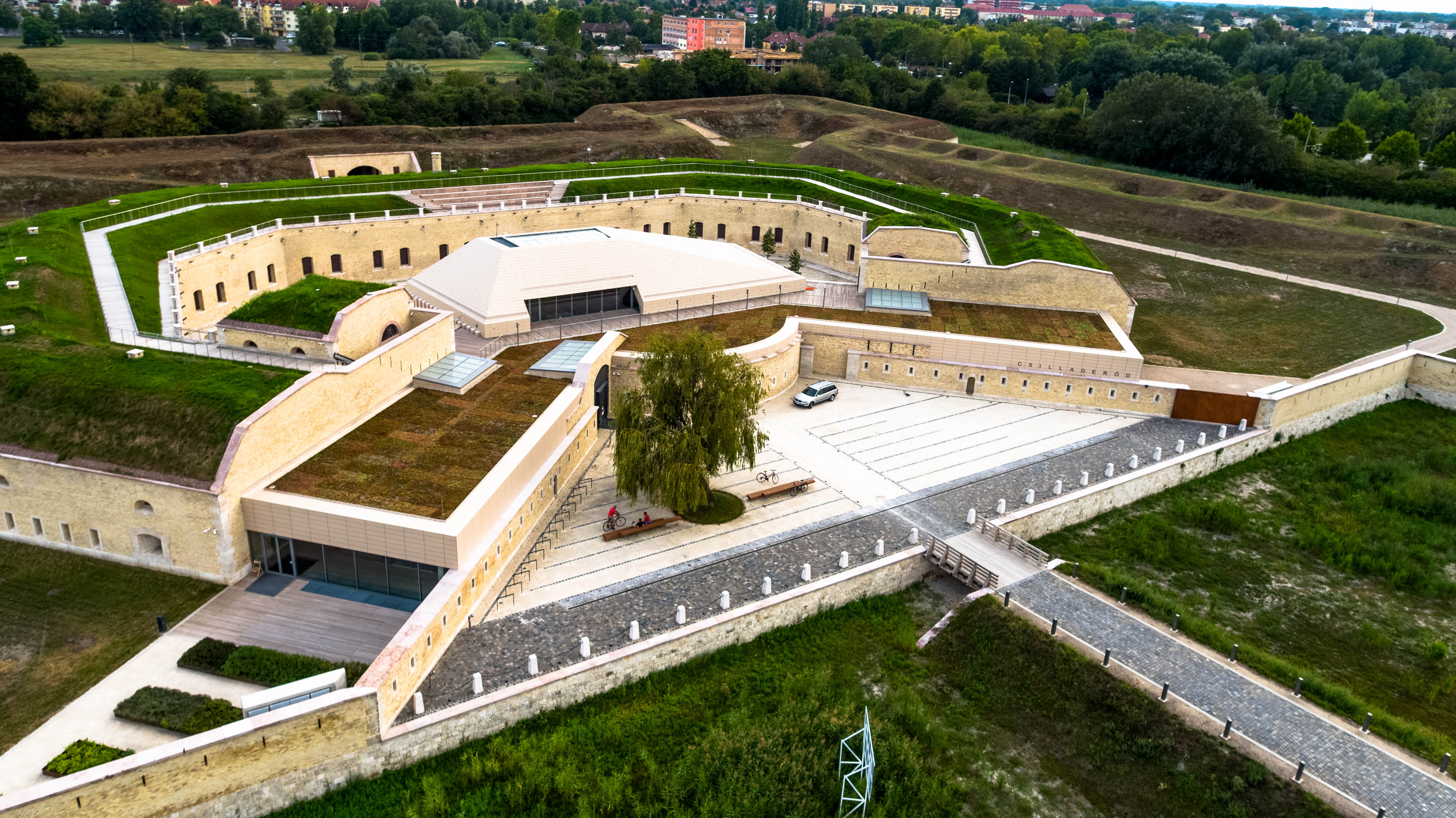 The renovation and expansion of the Komárom Star Fortress has been completed