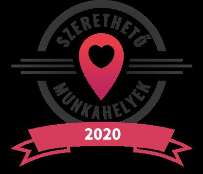 Szerethető Munkahely díj 2020