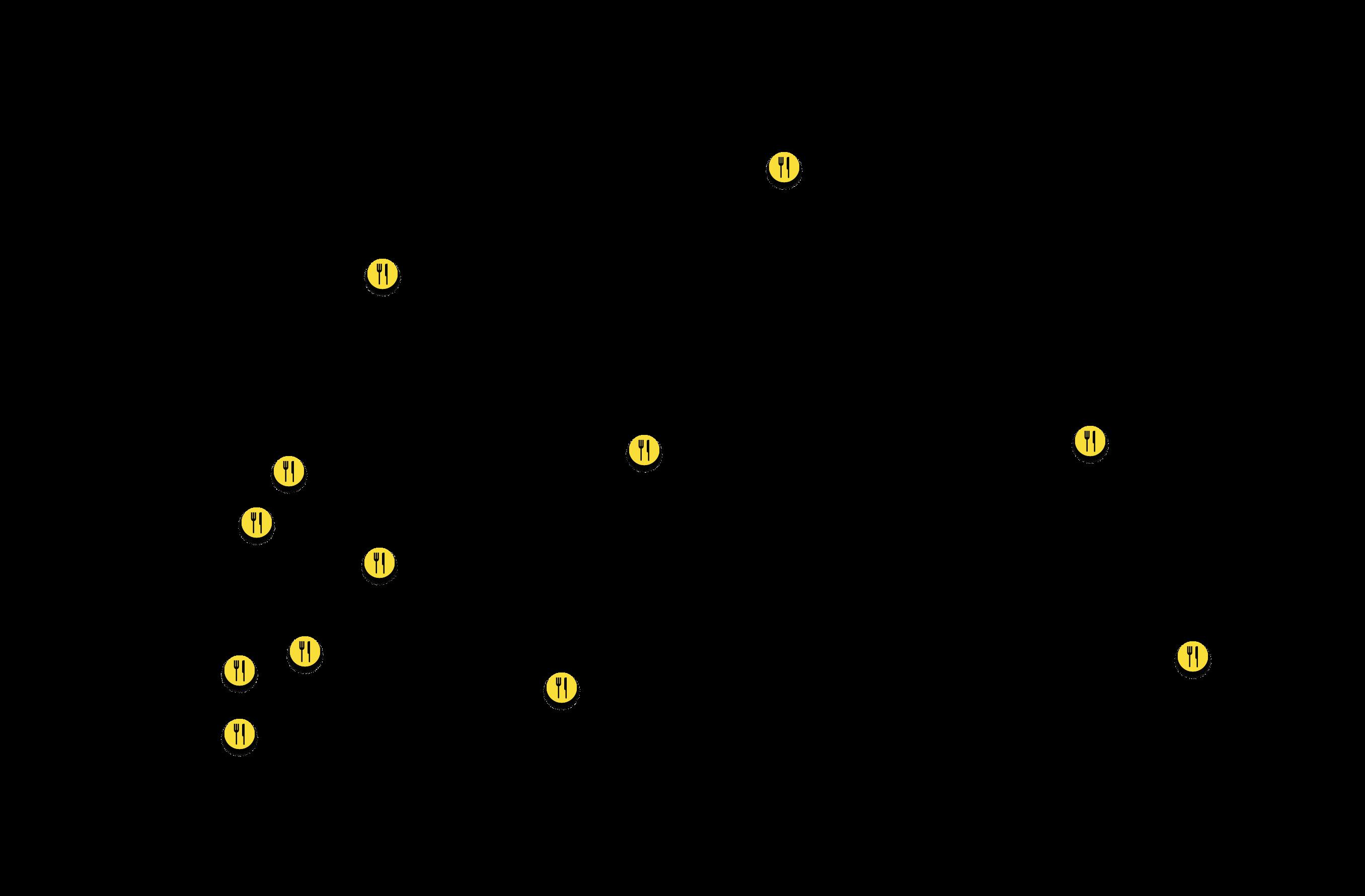 Vendéglátó helyek térkép