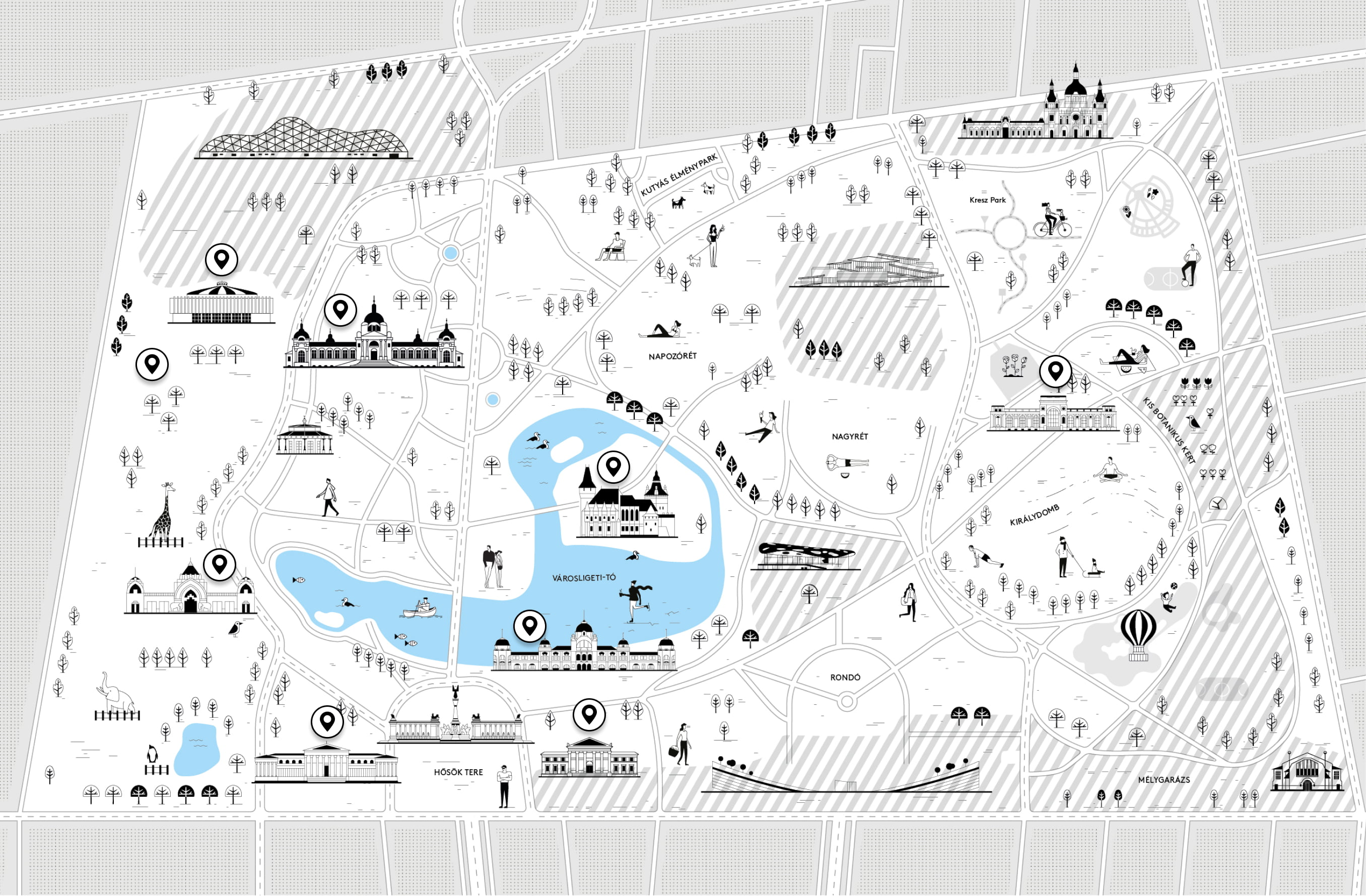 Intézmények térkép
